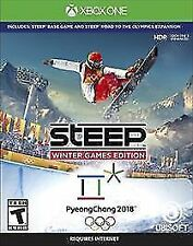 Steep: Winter Games Edition (Microsoft Xbox One, 2017) Brand New