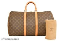 Louis Vuitton Monogram Keepall 50 Travel Bag M41426 - YG01041