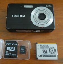 Fujifilm Finepix J10 8.2 MP Digital Camera with 3X Optical Zoom -Matte Black