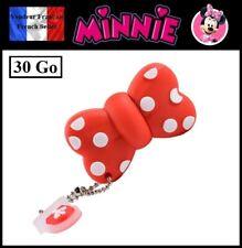 1 Clé USB 2.0 NEUVE 30Go ( USB Flash Drive 30Gb ) - Noeud Minnie Disney