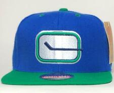 Vancouver Canucks Blockhead Vintage Snapback Hat American Needle Licensed New