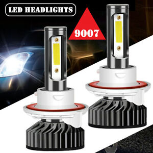 LED Headlight For Nissan Frontier 2005-2018 F2 9007 High low beam white Bulb