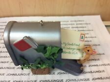 TO MY GOUDA FRIEND HALLMARK ORNAMENT 2005 NEW IN BOX WITH MEMORY CARD GREAT GIFT