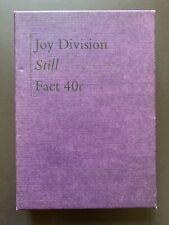 JOY DIVISION STILL 2 X CASSETTE TAPE BOX SET FACTORY UK 1986 FACT 40c