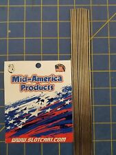 Mid America Products Stainless steel tubing .082    12 Pieces 1/24 Drag Slot Car
