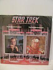 STAR TREK Laserdisc LD LASER DISC EXCELLENT CONDITION GREAT VIDEO 1987 TV