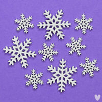 Christmas Snowflakes Cards Decoration 30 mm  Buttons Crafts Cards  CB9