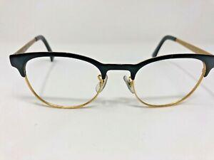 Ray Ban RX6317-2833 TOP BLACK ON MATTE GOLD Metal  51mm Unisex Eyeglasses BU38