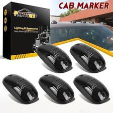 5xSmoke Cab Roof Top Marker Light Lens w Base For Dodge Ram 2500 3500 2003-2017