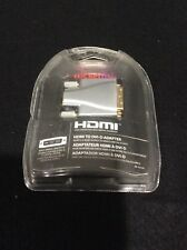 Rocketfish HDMI to DVI-D Adapter, Male Single-Link DVI-D, RF-G1174, Open Box