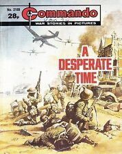 Commando For Action & Adventure Comic Book Magazine #2189 A Desperate Time