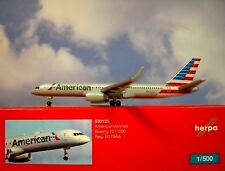 Herpa wings1:500 Boeing 757-200 American Airlines n179aa 530125 modellairport500