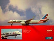 Herpa wings1:500 BOEING 757-200 AMERICAN AIRLINES n179aa 530125 modellairport500