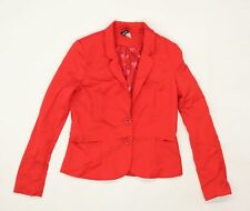 Divided Womens Red   Jacket  Size 12