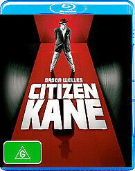 CITIZEN KANE BLU RAY - NEW & SEALED ORSON WELLES CLASSIC FREE POST
