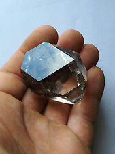 Radiant Large 50mm NY Herkimer diamond Gem-Top clarity & brilliance-Amber plains