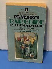 Vintage Book - Playboy's Bar Guide, Vintage 1972 Edition 9th Printing