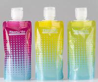 3 Flaschen 50ml Reise Set Flug Reisen Handgepäck Flüssigkeiten Kosmetik Pflege