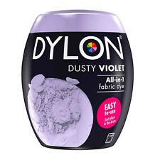 DYLON Textilfarbe Dusty Violett Farbe & Fixierer für 600g Stoff fabric dye Lila