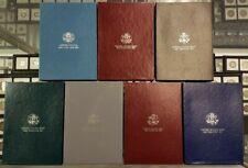 1987, 1988, 1989, 1990, 1991, 1992, 1993 US Mint Prestige Proof Sets | Box & COA