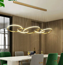 LED Ceiling Light remote Dimming Lighting Dining Room Chandelier Hanging Lamp