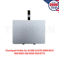 "Trackpad Touchpad+Cable for MacBook Pro 15"" A1286&13"" A1278 2009 2010 2011 2012"