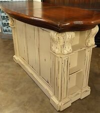 Bar/Kitchen Island SOLID MAHOGANY