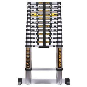 Aluminium Telescopic Ladder 3.8m Heavy Duty Multi-Purpose