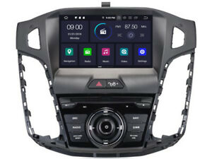 Car DVD GPS Navigation Radio Stereo for Ford Focus 2012-2014 Android 9.0 Wifi