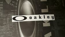 Oakley Sticker Black RARE (X Metal Radar Fuel Cell Gascan Romeo 2 Juliet Medusa)