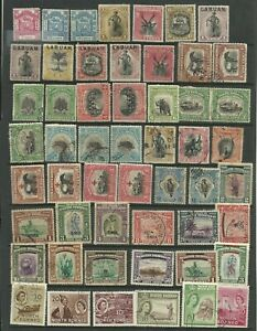 NORTH BORNEO/LABUAN Selection of M/Mint & Good used, Mixed condition.