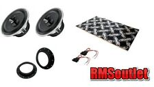 VW Caddy Mk3 2003 on Audison Voce 2 way Coaxial Speaker Upgrade pack inc Dynamat