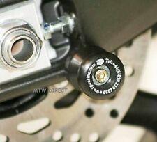 R&G RACING  BLACK M8 REAR SWING ARM BOBBINS  for Suzuki 2002 DL1000 V-Strom K2