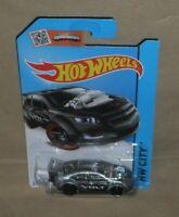 Hot Wheels Showdown HW City Super Volt  2013 grey L/card (c)