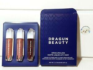 Dragun Beauty - Nikita Dragun DragunGlass Matte Liquid Lipstick# 3 Way Mini Trio