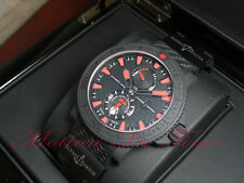 Ulysse Nardin Maxi Marine Diver Black Sea W/Red Hour Markers 45mm Ref: 263-92-3C