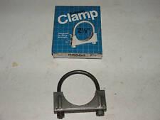 "NEW Muffler  Heavy Duty exhaust clamp  2  1/8"" pipe catalytic converter"