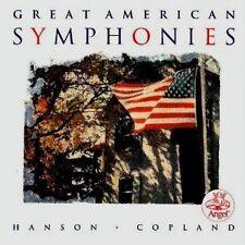 Great American symphonies Howard Hanson Aaron Copland Leonard slatkin Eduar Mata