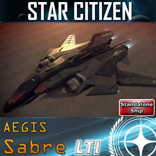 Star Citizen - Aegis SABRE LTI (check my store for more ships and upgrades)