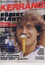 ROBERT PLANT / IRON MAIDEN / MOTORHEADKerrangno.18Jun171982
