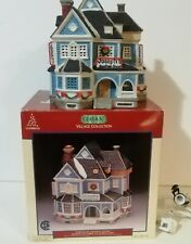 FREE SHIPPING LEMAX  Taylor Cottage #95504 Porcelain Lighted Building  2019