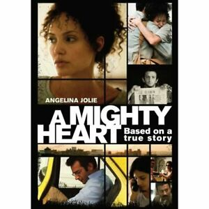 A Mighty Heart On DVD With Angelina Jolie Very Good E00