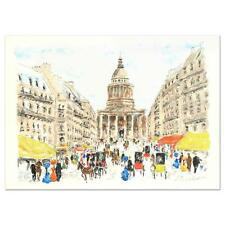 """Urbain Huchet  """"Pantheon"""" Limited Edition Lithograph, Numbered and Hand Signed"""