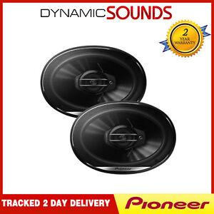 Pioneer TS-G6930F 800 Watts a Pair 3 Way 6x9 Rear Parcel Shelf Car Van Speakers