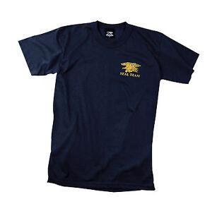 Rothco 60030 Official Navy Seals Team Logo T-shirt - Navy Blue
