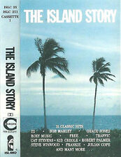 Various The Island Story CASSETTE ONE ONLY ALBUM U2 ROXY TULL FREE TRAFFIC 15tr