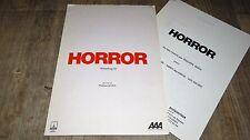 HORROR howling II ( hurlements ) ! dossier presse cinema