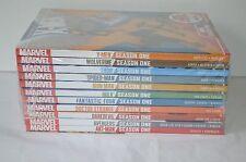 New $275 Marvel Season One (x11) Graphic Novel HB Hulk Thor Dr Strange Avengers