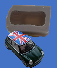 8cm 3D MINI COOPER SILICONE MOULD FOR CAKE TOPPERS ETC
