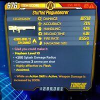 (PC) Borderlands 3 [Level 65/MAYHEM 10] Plaguebearer (Fire) (200%DMG-ASA)